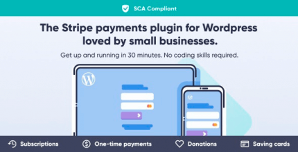 WP Full Stripe 5.5.6 – Subscription and payment plugin for WordPress