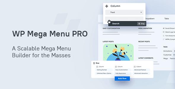 WP Mega Menu Pro 1.3.4 NULLED