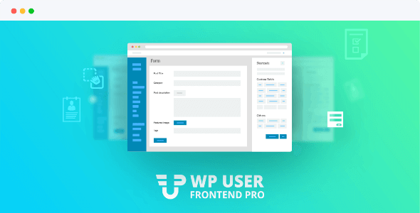 WP User Frontend Pro 3.4.6 Business