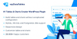 wpDataTables 3.4.3 – Tables and Charts Manager for WordPress