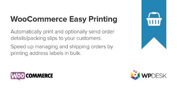 WooCommerce Print Orders & Address Labels 1.3.2