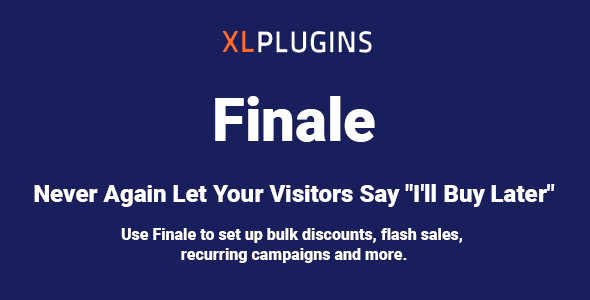 Finale 2.18.0 NULLED – WooCommerce Sales Countdown Timer & Discount Plugin