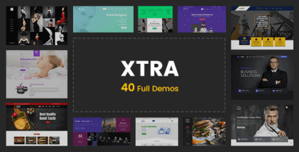 Xtra 4.1.0 NULLED – Creative Website Builder + StyleKit