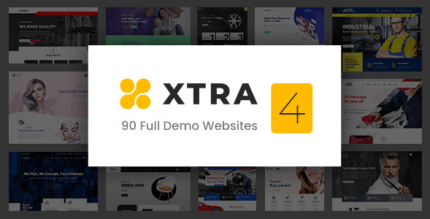 Xtra 4.3.8 NULLED – Creative Website Builder + StyleKit