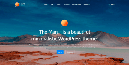 Mars 1.1.0 NULLED – Multipurpose Creative Studio and Agency Template
