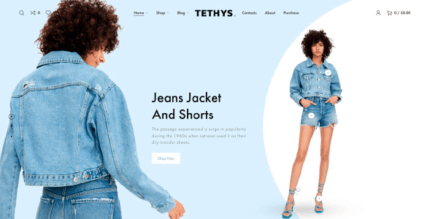 Tethys 1.1.0 NULLED – eCommerce Fashion and Minimalism Template