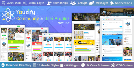 Youzify 3.1.4 – WordPress Community & User Profiles New Era