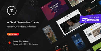 Zeen 4.0.4 – Next Generation Magazine WordPress Theme