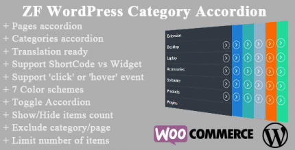 ZF WordPress Category Accordion 2.4