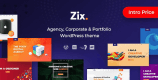 Zix 1.0.8 – Digital Agency & MultiPurpose WordPress Theme
